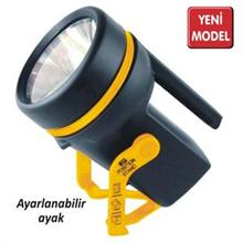 LIGHTORCH KRYPTON AMPULLU AYAKLI EL FENERİ 4xD KALIN PİLLİ